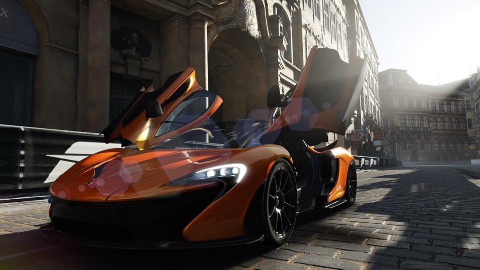 Una captura de pantalla del Forza Motorsport 5, anunciado para la Xbox One.