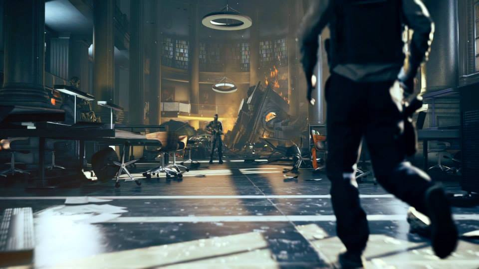 Captura de pantalla de Quzntum Break, uno de los títulos más impactantes para la Xbox One de Microsoft y desarrollado por Remedy Entertainment.
