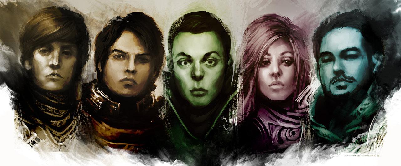 Imagen preliminar de los pesonajes The Big Bang Theory